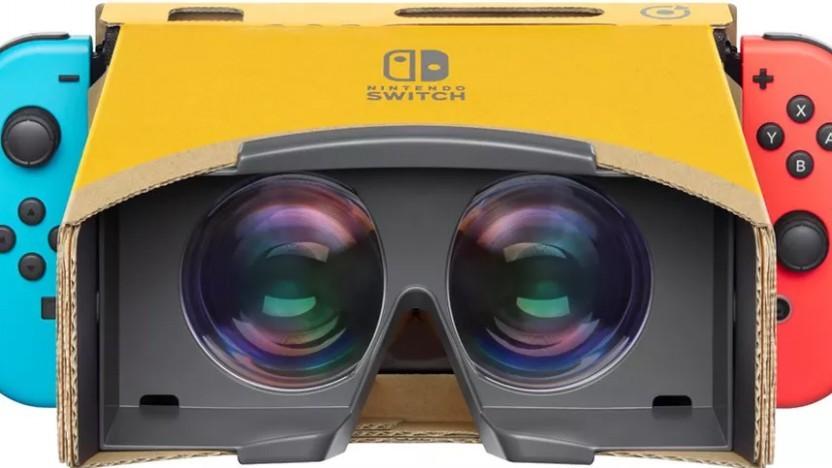 Das Labo-VR-Headset für die Nintendo Switch