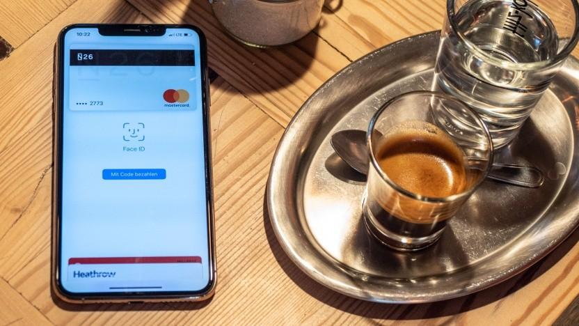 Bislang funktioniert Apple Pay nur mit Kreditkarten - wie hier mit der von N26.
