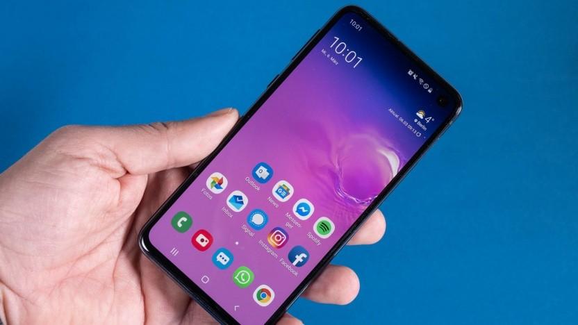Das Galaxy S10e von Samsung