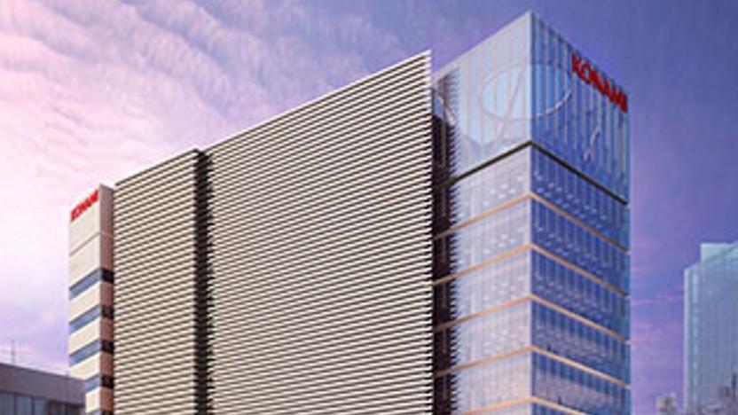 Gerenderte Grafik des Konami Creative Center Ginza