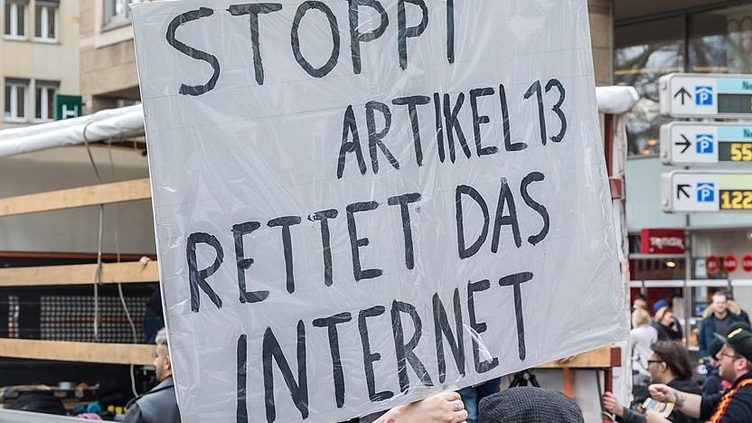 Proteste gegen die Reform am 9. März 2019 in Köln