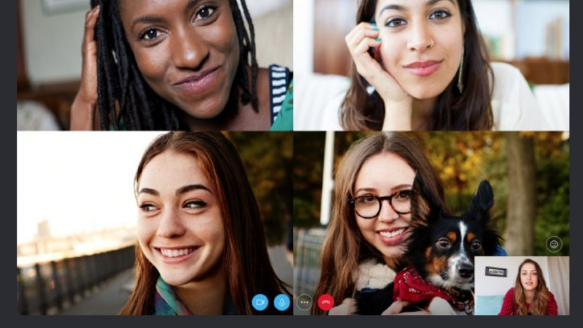 Auch Skype for Web unterstützt Videoanrufe.