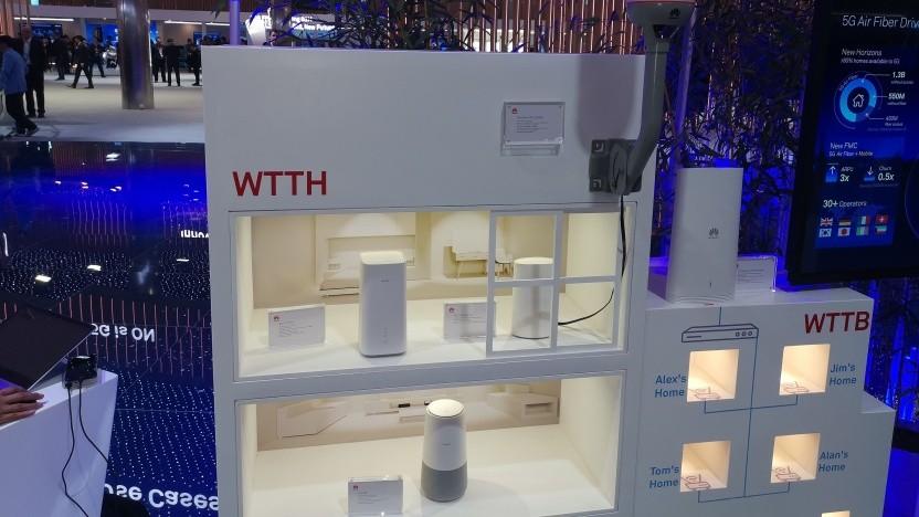 FWA mit 5G: Technik von Huawei
