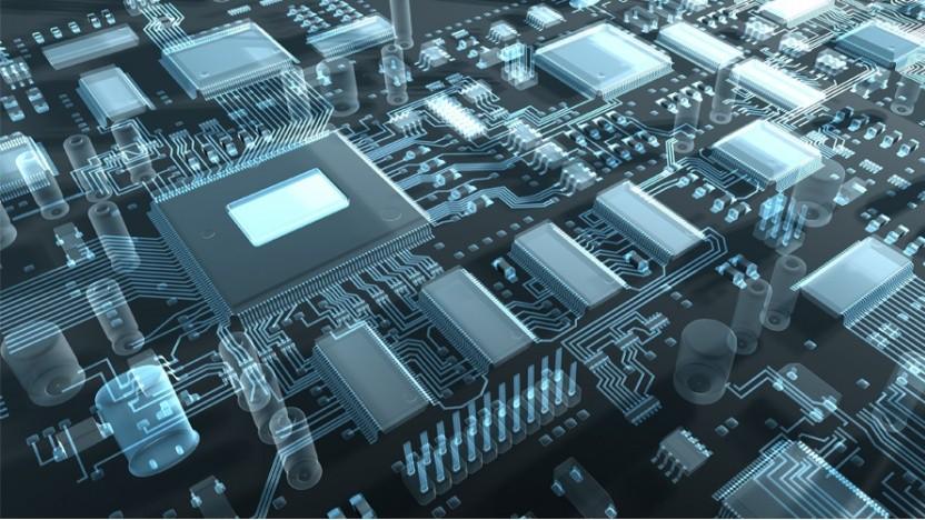 Symbolbild einer CPU samt Interconnect