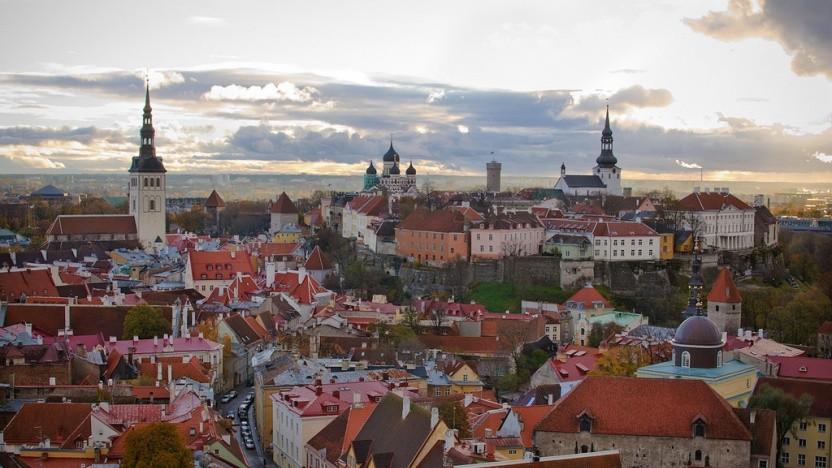 In Estland und auch in der Hauptstadt Tallinn setzen viele Bürger auf die Onlinewahl.