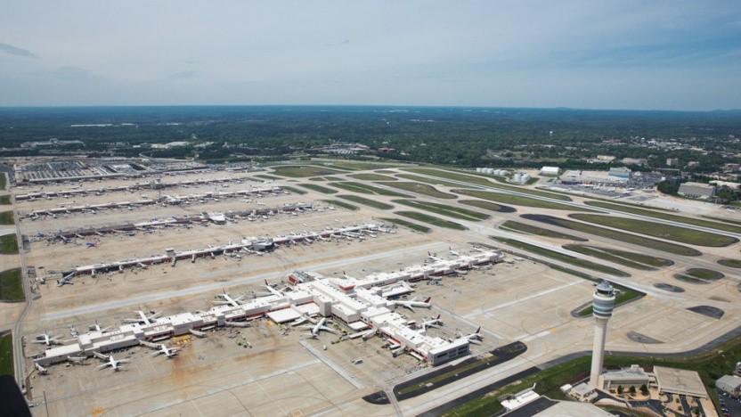 Atlanta, 2017 der Flughafen mit dem größten Passagieraufkommen, dürfte schnell eine Gesichtserkennung bekommen.