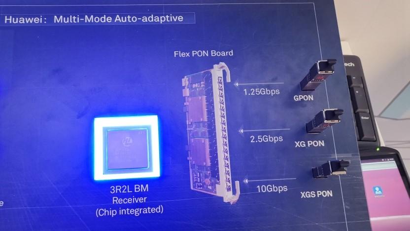 Technik von Huawei auf dem MWC