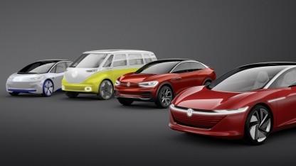 Mit der ID-Familie will Volkswagen Elektroautos für die Massen bauen.