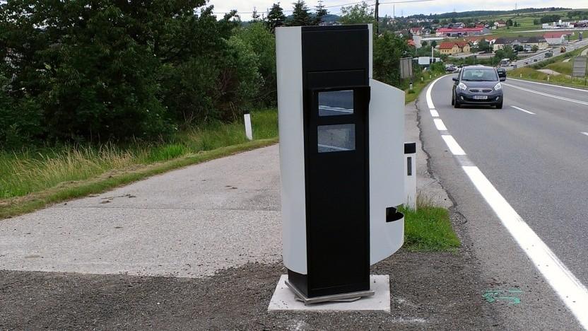 Streckenradar an der B37 in Österreich