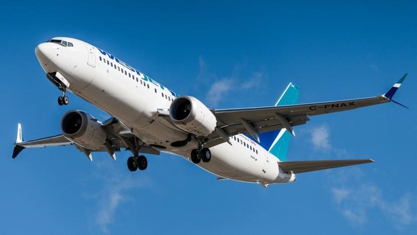 Eine Boeing 737 MAX 8. Zwei Flugzeuge des Typs sind in den letzten fünf Monaten verunglückt.