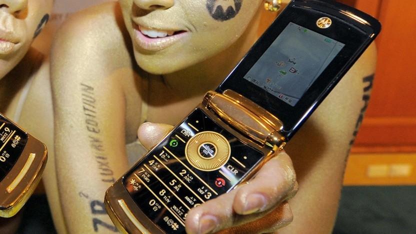 Das ursprüngliche Razr gehörte zu Motorolas erfolgreichsten Mobiltelefonen.
