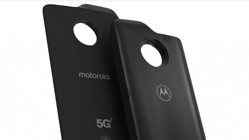 Eines der ersten 5G-Smartphones im Netz von Verizon kommt von Motorola.