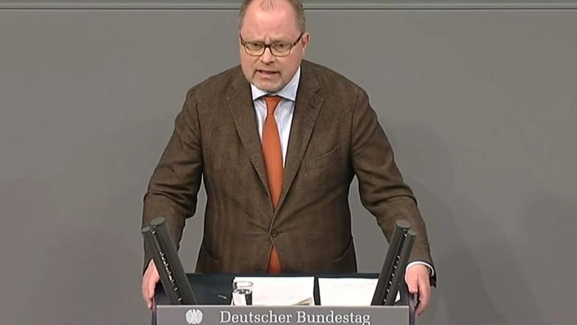 Staatssekretär Christian Lange (SPD) verteidigt die Uploadfilter.