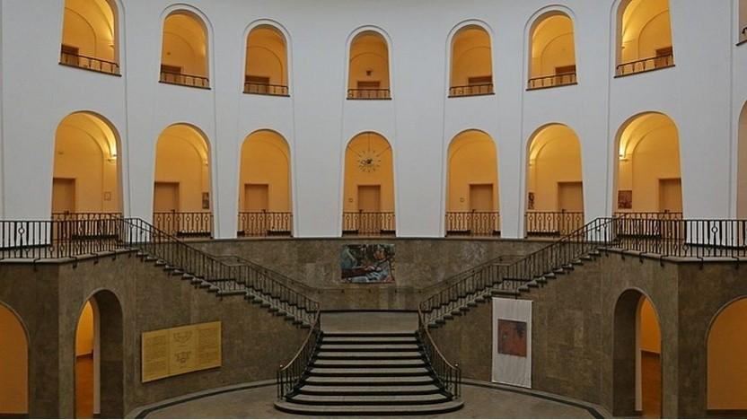 Innenansicht des Verwaltungsgerichts Köln
