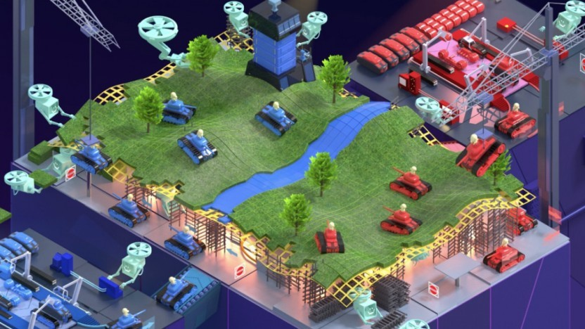 Game Stack ermöglicht die Entwicklung von Spielen.