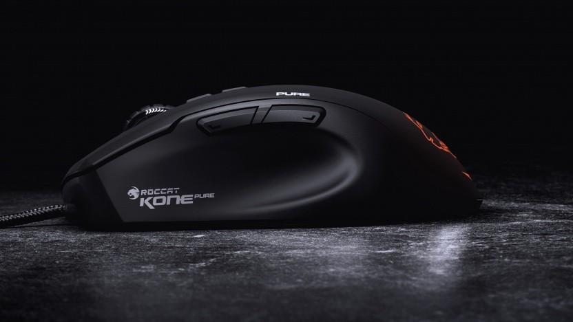 Die Roccat Kone Pure ist die Neuauflage der ersten Maus des Herstellers.