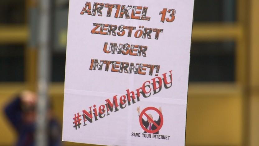 Die CDU steht in der Debatte um Uploadfilter in der Kritik.