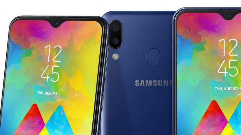 Das Galaxy M20 von Samsung