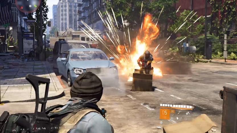 TD2 ist ein Cover-Shooter, und wer rumsteht, wird umgeschossen.