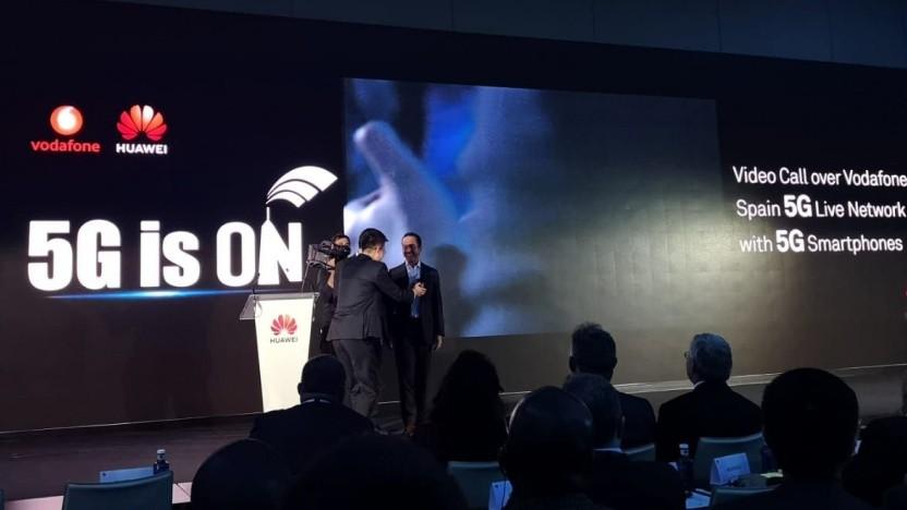 Europäische 5G-Präsentation von Huawei in London