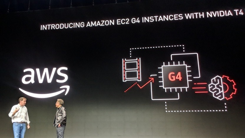 AWS bietet Instanzen mit Nvidias Tesla T4 an.