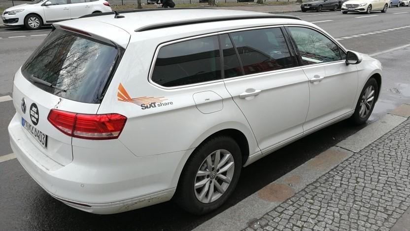 Ein Fahrzeug von Sixt Share