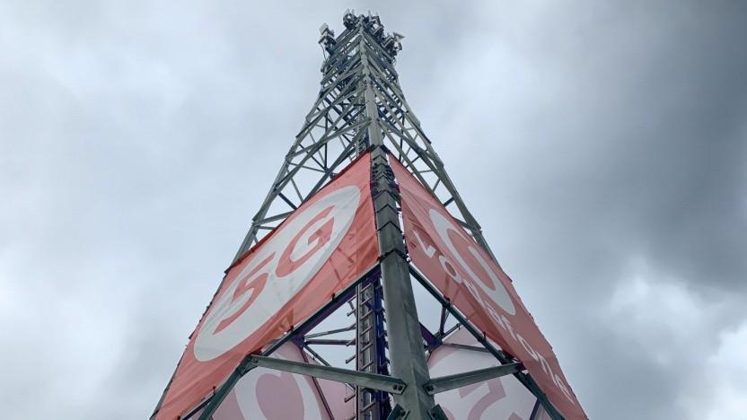 Mobilfunknetz von Vodafone
