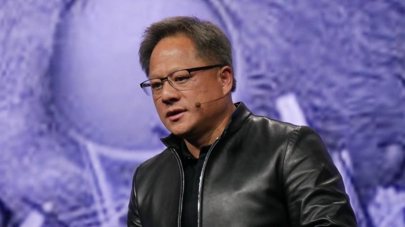 Nvidia-CEO Jensen Huang auf der GTC 2019