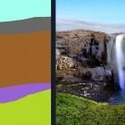 Gaugan: Nvidias Malprogramm wandelt Flächen in Landschaften um