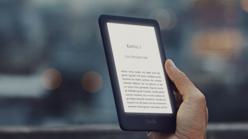Neuer Kindle - E-Book-Reader mit beleuchtetem Display