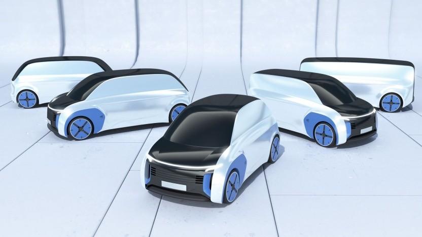 Next Generation Car: Fahrzeugfamilie vom gesteuerten Kleinwagen bis zum selbstfahrenden Peoplemover