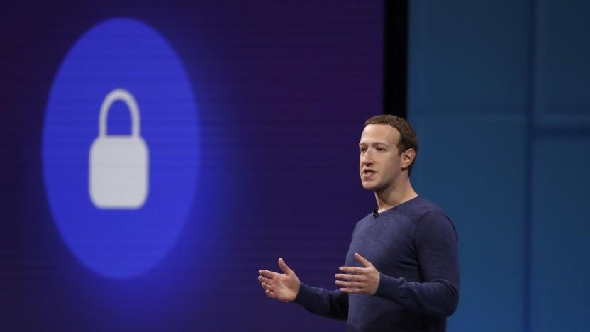Die Verschlüsselung ist für Facebook-Chef Mark Zuckerberg eigentlich ein wichtiges Thema.