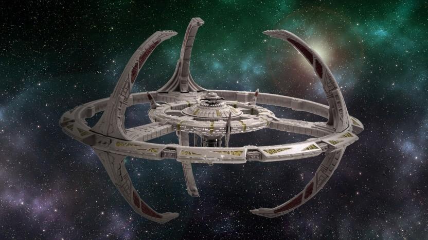 Die namensgebende Raumstation Deep Space Nine (ehemals Terok Nor)