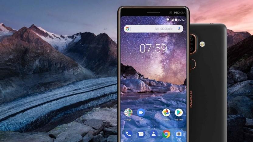 Bei der Aktivierung des Nokia 7 Plus wurden Daten nach China gesendet.