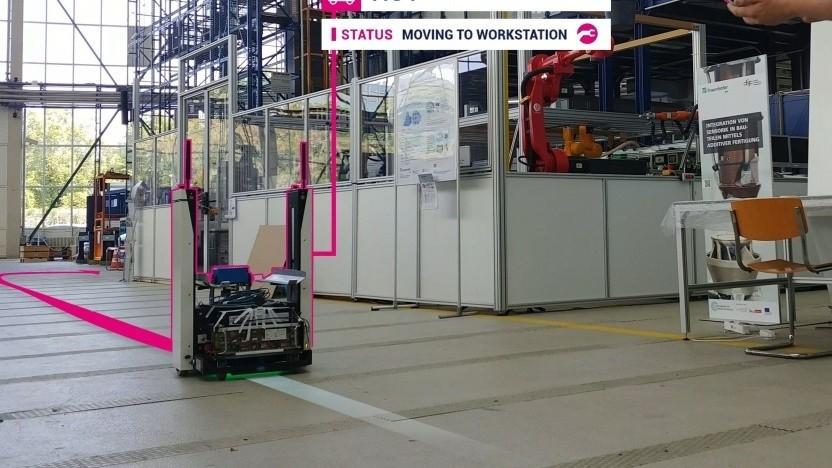 Campusnetz für die Industrie: Telekom und Osram