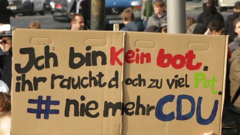 Die CDU zieht mit ihrer Kritik den Zorn der Nutzer auf sich.