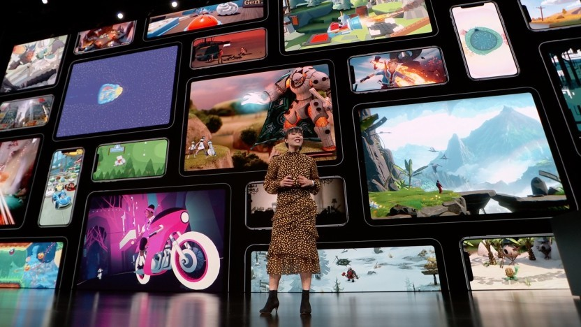 Apple stellt Apple Arcade auf einer Keynote im März 2019 vor.