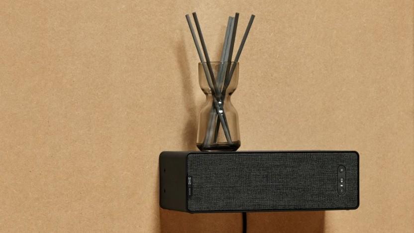 Der erste gezeigte Symfonisk-Lautsprecher nutzt Sonos-Technik.