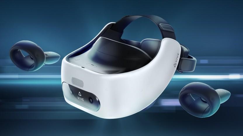 Vive Focus Plus mit 6DoF-Controllern