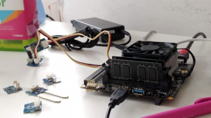 Der Udoo Bolt ist ein kleiner Rechner mit Ryzen-CPU.