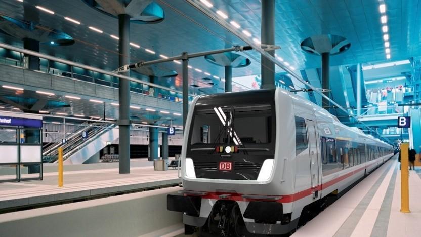 Die Deutsche Bahn modernisiert die IC/EC-Flotte. Die neuen ECx haben bei Auslieferung WLAN.