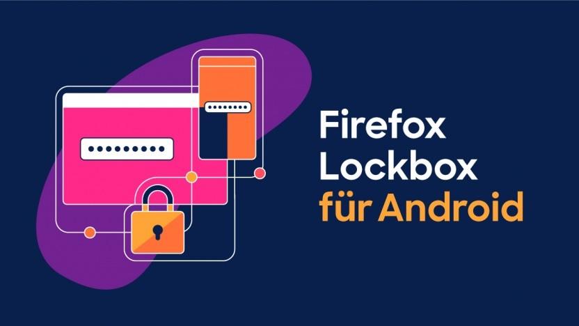 Der Passwortspeicher Lockbox von Mozilla steht jetzt auch für Android bereit.