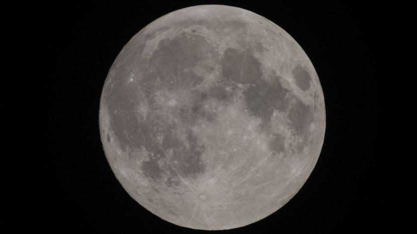 Der Mond (Symbolbild): Es geht auch ohne die Nasa.