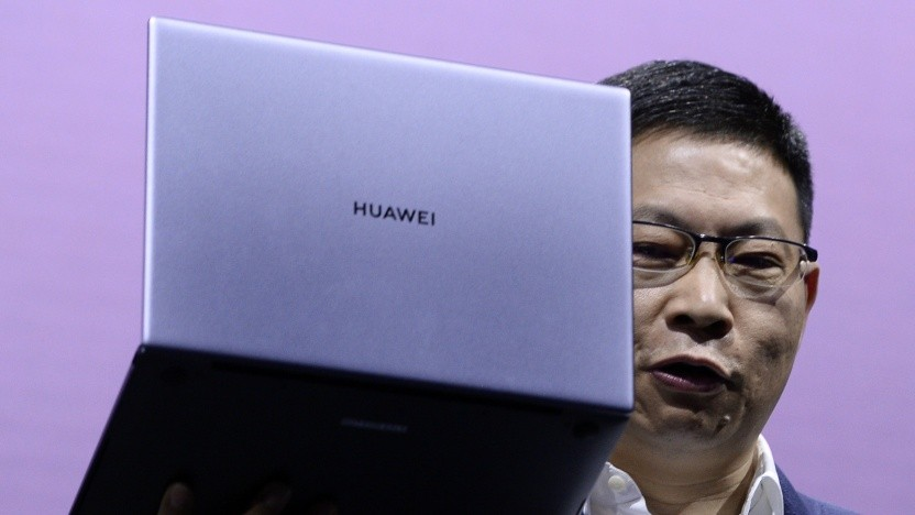 Präsentation eines Huawei Matebooks