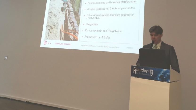 Mario Zerson, bei der Telekom für die internationale Standardisierung verantwortlich