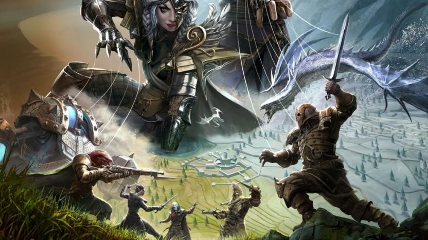Artwork von Divinity Fallen Heroes