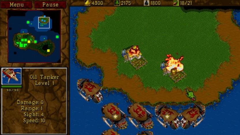 Artwork von Warcraft 2