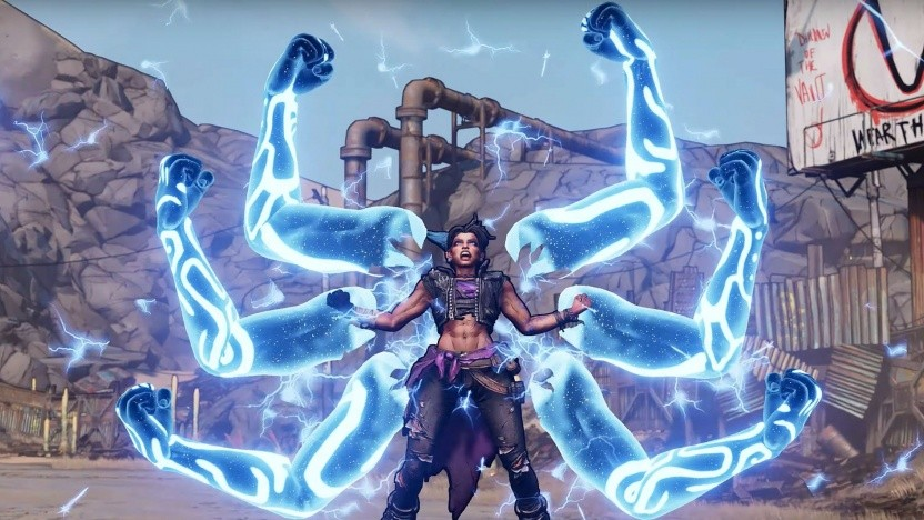 Artwork von Borderlands 3