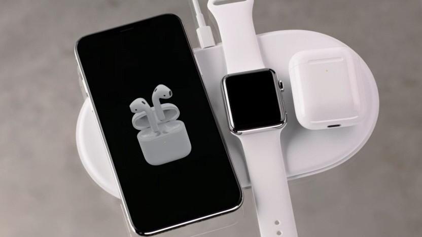 Drahtloses Ladesystem Airpower: genügt Apples Qualitätsstandards nicht.