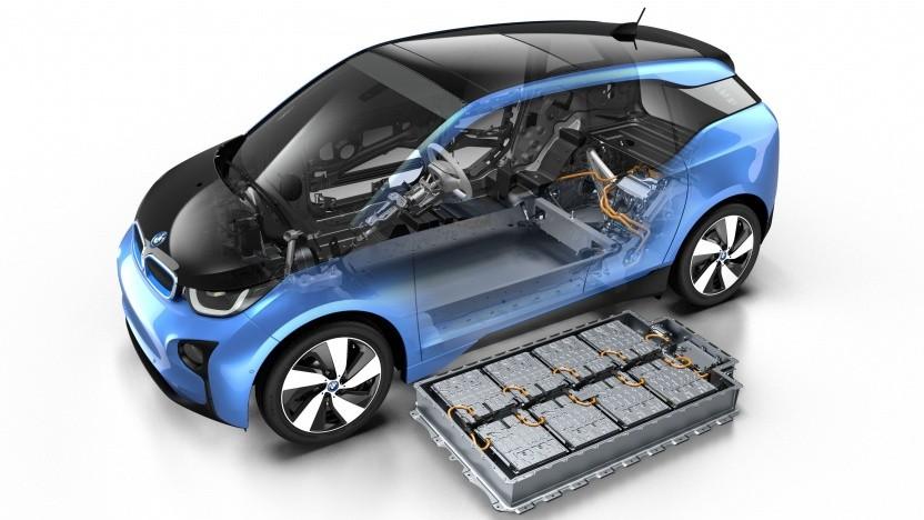 Elektroauto BMW i3 mit Akkupack (Symbolbild): keine Ambitionen auf eigene Zellfertigung